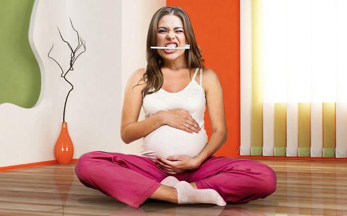 Профилактика кариеса для беременных женщин